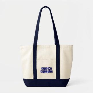 "Chico's Cherubs Blue Logo ""Boat Tote"" Tote Bag"