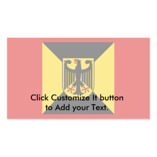 Chief Air Force, Germany Pack Of Standard Business Cards