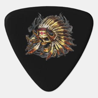 Chief Bones Guitar Pick
