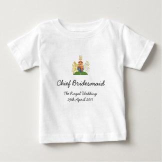 Chief Bridesmaid - fun Royal wedding childs tee
