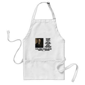 Chief Business Of American People Is Business Adult Apron
