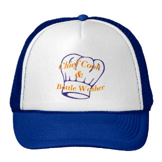 Chief Cook & Bottle Washer Hats