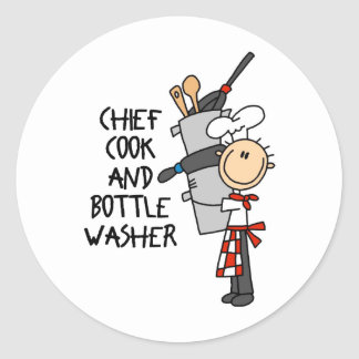 Chief Cook Stickers