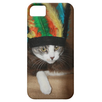 Chief Crazy Cat iPhone 5 Case