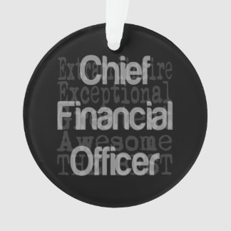 Chief Financial Officer Extraordinaire Ornament
