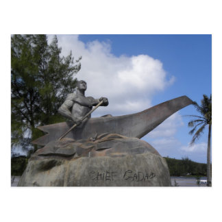 Chief Gadao Postcard
