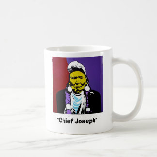 """Chief Joseph"" mug"