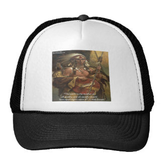 Chief Joseph & Nature Quote Gifts Tees & Cards Cap