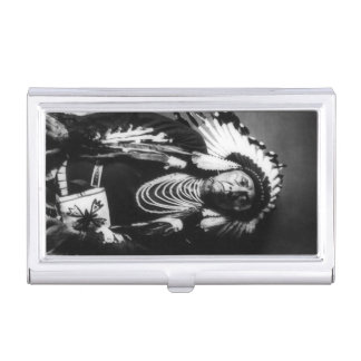 Chief Joseph Vintage Nez Perce Native American Business Card Cases