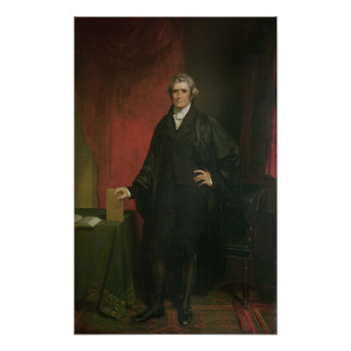 Chief Justice Marshall Poster