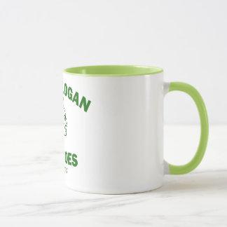 Chief Logan 15 oz ringer mug