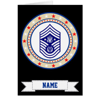 Chief Master Sergeant of the Air Force CMSAF Greeting Card