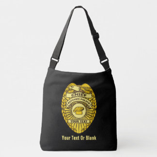 Chief Of Kitchen Police Badge Crossbody Bag