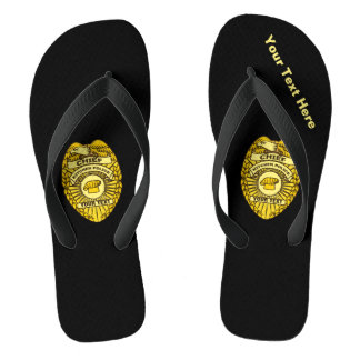 Chief Of Kitchen Police Badge Thongs