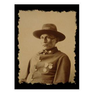 Chief of the Chiricahua Apache Tribe 1898 Postcard