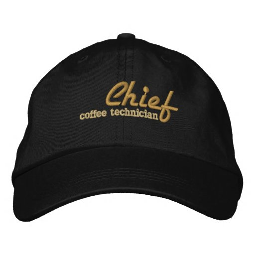 Chief of whatever! Embroidered Cap Embroidered Hat