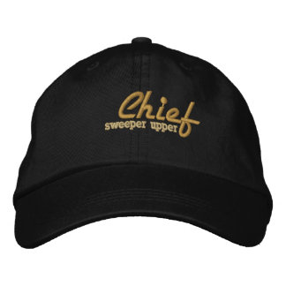 Chief of whatever Embroidered Cap Embroidered Baseball Cap