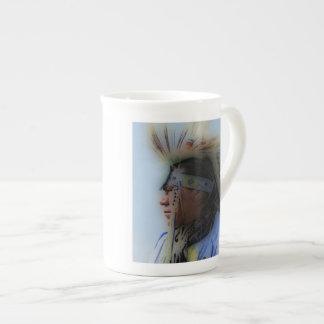 'Chief Overlooking' Bone China Mug