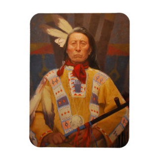 Chief Red Cloud Refrigerator Magnet