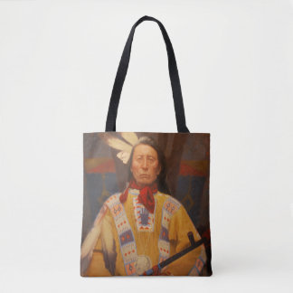 Chief Red Cloud Tote Bag