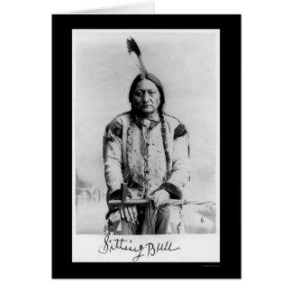 Chief Sitting Bull 1889 Card