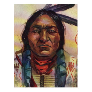 Chief Sitting Bull Postcard