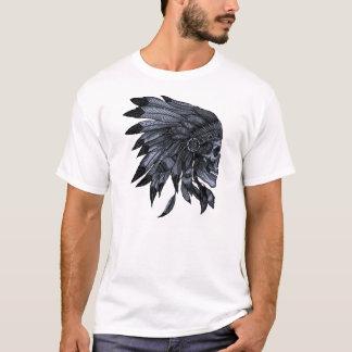 Chief Skull Blue T-Shirt