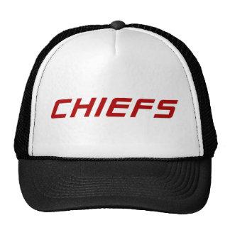 Chiefs Black Trucker Hat