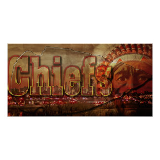 Chiefs Football Poster