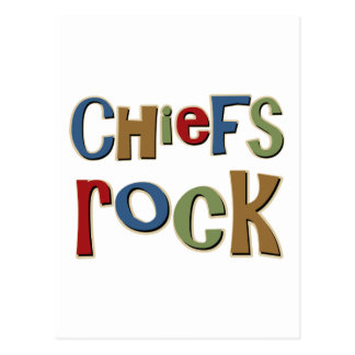 Chiefs Rock Postcard