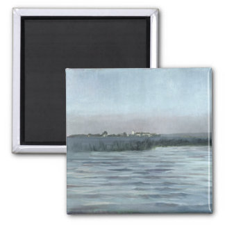 Chiemsee, 1874 square magnet