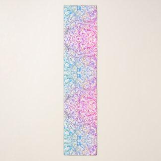 Chiffon Swirl Pattern Scarf Gift Idea for Her