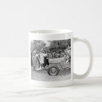 Chigago Children Do Their Part in WW2 Coffee Mugs