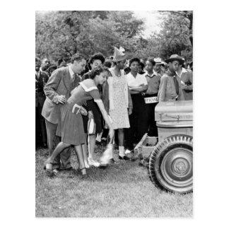Chigago Children Do Their Part in WW2 Postcard