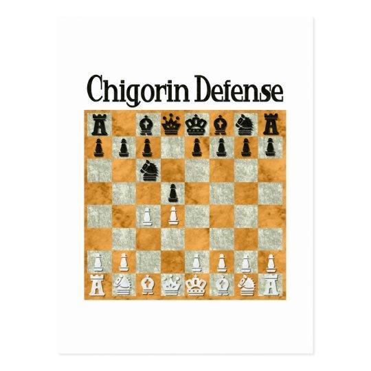Chigorin Defence Postcard