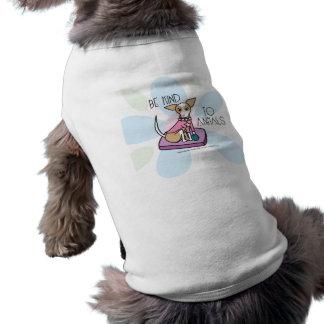 chihuaha doggie tee
