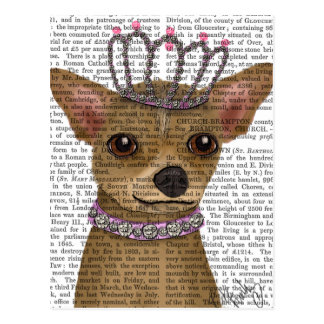 Chihuahua And Tiara Postcard