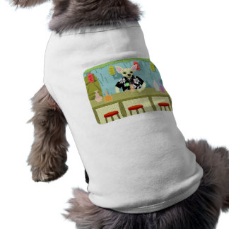 Chihuahua Bamboo Tiki Bar Sleeveless Dog Shirt
