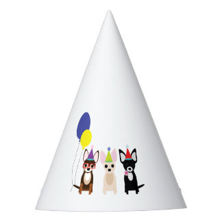Chihuahua Birthday Party Hat