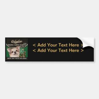 Chihuahua Brand – Organic Coffee Company Bumper Sticker