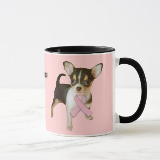 Chihuahua Breast Cancer Mug