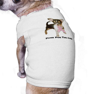 Chihuahua Breast Cancer Pet Clothing