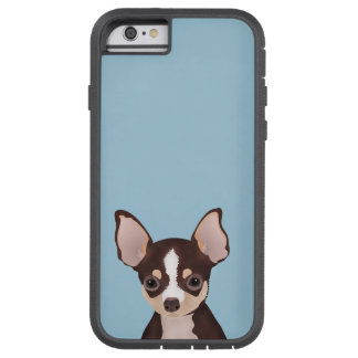 Chihuahua cartoon tough xtreme iPhone 6 case