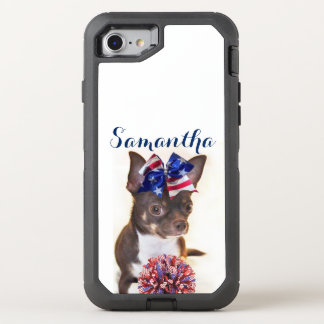 Chihuahua Cheerleader dog Otterbox phone OtterBox Defender iPhone 8/7 Case