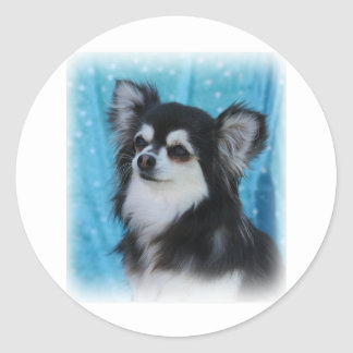 Chihuahua Classic Round Sticker