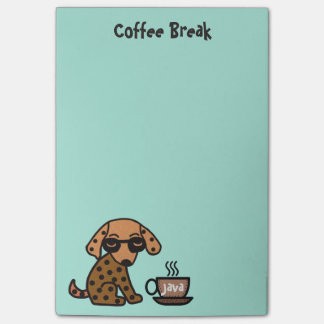 Chihuahua Coffee Break Post-it® Notes
