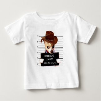 chihuahua cowboy - sheriff dog baby T-Shirt