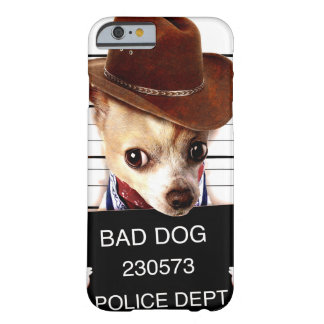chihuahua cowboy - sheriff dog barely there iPhone 6 case