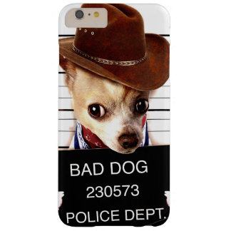 chihuahua cowboy - sheriff dog barely there iPhone 6 plus case