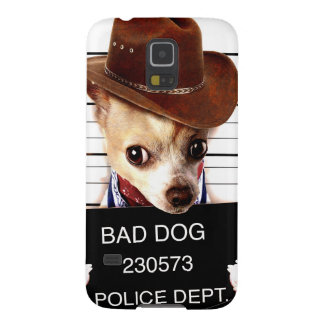chihuahua cowboy - sheriff dog case for galaxy s5